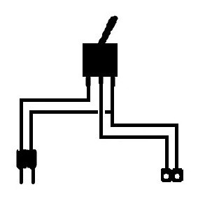 On-Off Switch with Connector Leads