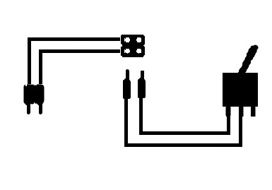 On-Off Switch with Connector Lead